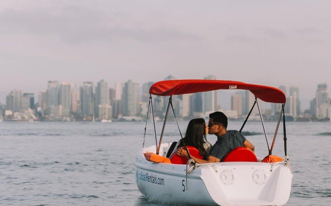 Date Idea San Diego: Eco Pedal Boat