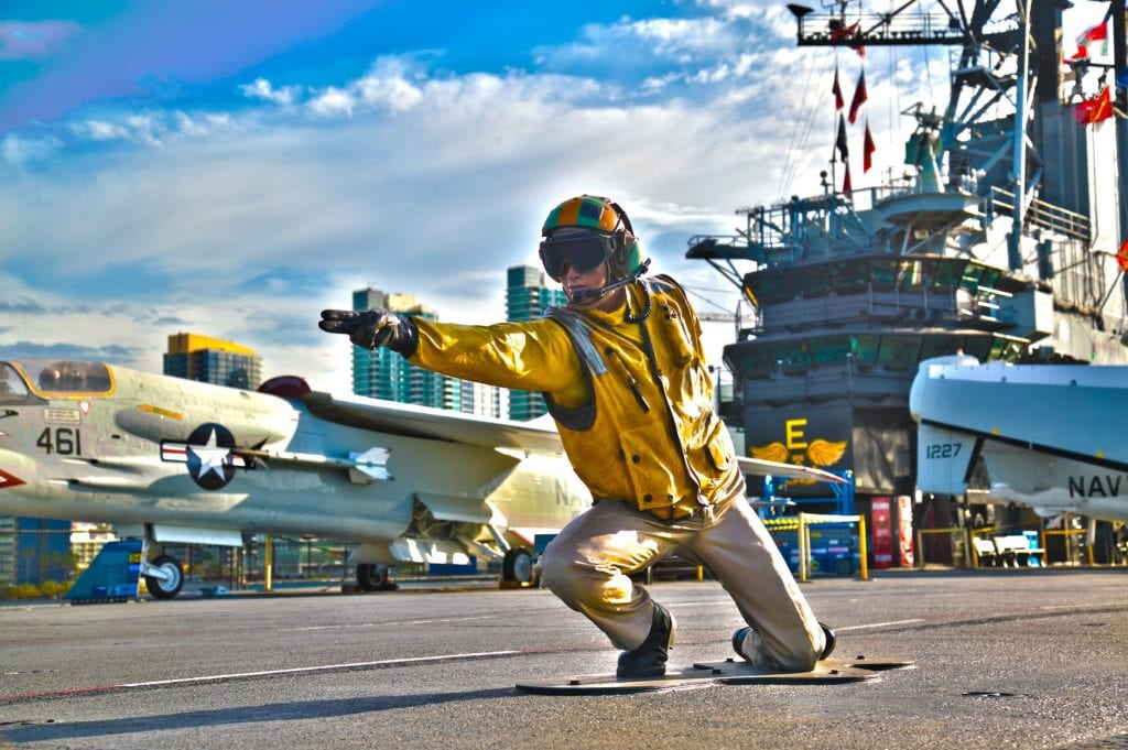 USS Midway Museum - San Diego Father's Day